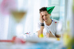 Hangover Royalty Free Stock Images