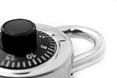 Hangslot en sleutels Stock Afbeeldingen