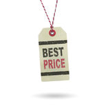 Hangtag Best Price Stock Image