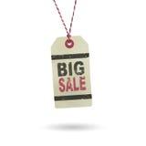 Hangtag-großer Verkauf Lizenzfreie Stockbilder