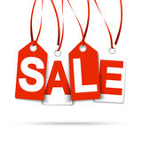 Hangtags  SALE  Royalty Free Stock Photography