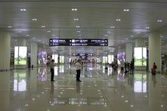 Hangzhou östlig järnvägsstation Royaltyfri Bild