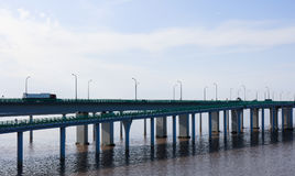 China `s Hangzhou Bay Bridge Stock Photography