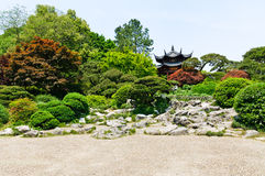 Hangzhou beautiful gardens in the park Royalty Free Stock Photo