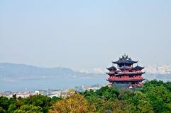 Hangzhou Chenghuang tempel Fotografering för Bildbyråer