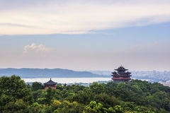 Hangzhou Chenghuang Temple Royalty Free Stock Photography