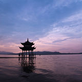 Hangzhou,china. West lake in hangzhou,China Royalty Free Stock Image