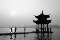 Hangzhou, China - West Lake Stock Image