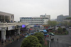 Hangzhou city railway station Royalty Free Stock Photos