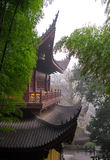 Hangzhou, de Tempel LingYin stock afbeeldingen