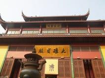 Hangzhou, de Tempel LingYin royalty-vrije stock afbeeldingen