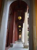 Hangzhou, de Tempel LingYin stock fotografie