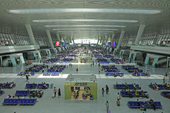 Hangzhou East Railway Station interior Stock Images