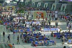 Hangzhou East Railway Station interior Royalty Free Stock Image