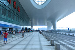 Hangzhou East Railway Station Royalty Free Stock Image