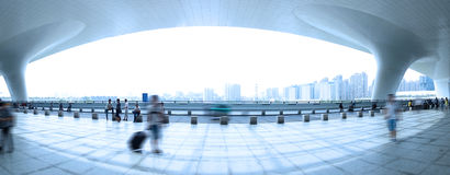 Hangzhou East Railway Station Royalty Free Stock Photo