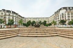 Hangzhou  French architecture scenery Stock Image