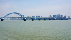 For Hangzhou Fuxing Bridge Stock Image