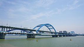 For Hangzhou Fuxing Bridge Stock Photos