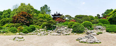 Hangzhou garden landscape Stock Photos