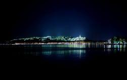 Hangzhou Gem Mountain night. Eastphoto, tukuchina,  Hangzhou Gem Mountain night Royalty Free Stock Photo
