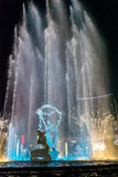 Hangzhou Illuminated building Wishan Square Royalty Free Stock Images