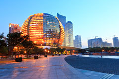 Hangzhou international conference center building Stock Photo
