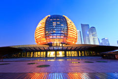 Hangzhou international conference center building Royalty Free Stock Photo