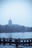 Hangzhou landscape Royalty Free Stock Photos