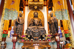 Hangzhou lingyin temple buddhist temple famous, in China Stock Images