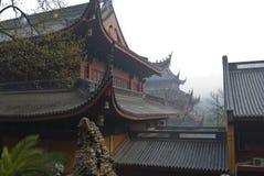 hangzhou lingyintempel Royaltyfri Fotografi