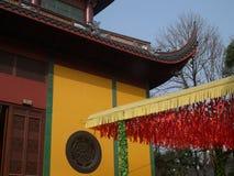 hangzhou lingyintempel Royaltyfri Bild