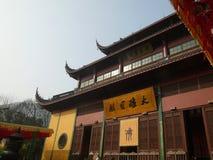 hangzhou lingyintempel Royaltyfri Foto