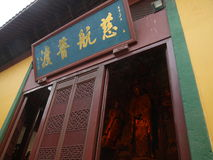 hangzhou lingyintempel Royaltyfria Foton