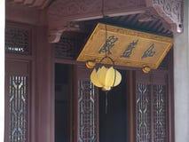 hangzhou lingyintempel Arkivbilder