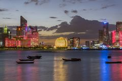 Hangzhou linia horyzontu obraz stock
