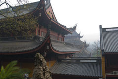 Hangzhou, o templo de LingYin Fotografia de Stock Royalty Free