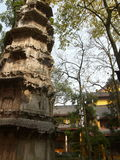Hangzhou, o templo de LingYin Fotografia de Stock