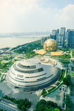 Hangzhou Qianjiang new city centre, overlooking the landscape,in  China Royalty Free Stock Images