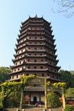 Hangzhou six harmonies pagoda park Stock Photo