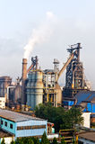 Hangzhou steelworks industrial buildings Royalty Free Stock Photography