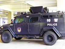 Hangzhou SWAT car Stock Image