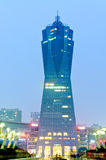 Hangzhou västra byggnad för gränsmärke för fyrkant för sjökultur Royaltyfri Fotografi