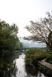 Hangzhou västra Lake Royaltyfria Foton