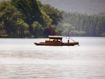 Hangzhou västra lake i Kina arkivbild