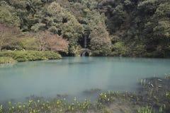 Hangzhou västra sjöLingyin kulle arkivbilder