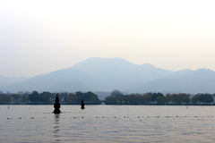 Hangzhou west lake China Stock Photography