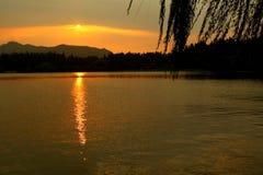 Hangzhou West Lake. China Hangzhou  West Lake. scenery tour royalty free stock image