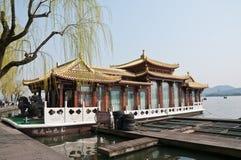 Free Hangzhou West Lake Cruise Royalty Free Stock Photography - 39450087