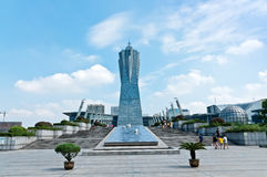 Hangzhou West Lake Cultural Plaza Royalty Free Stock Photography
